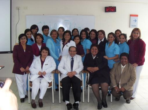 Enfermeras y obsterices del Hospital de Ventanilla
